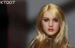 画像5: KIMI TOYS 1/6 白人女性ヘッド KT007 *お取り寄せ