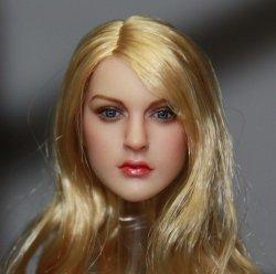 画像1: KIMI TOYS 1/6 白人女性ヘッド KT007 *お取り寄せ