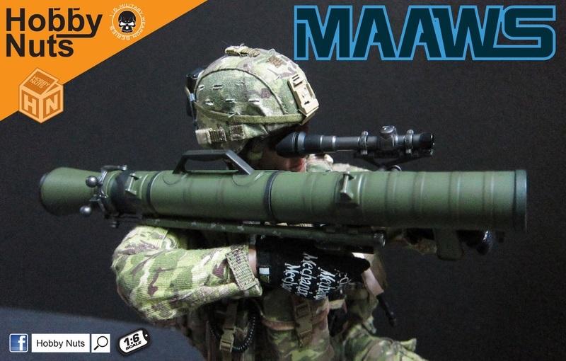 Hobby Nuts 1/6 カールグスタフ M3 - MAAWS 無反動砲 (ODカラー・ウェザリング加工) M3-1 *予約 - 1/6フィギュア通販専門店 - トレジャートイズ