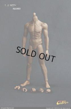 画像1: CMTOYS  シームレス男性素体/黒人 Muscular Body 003 **お取り寄せ**