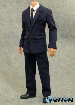 画像1: ZY TOYS 男性スーツセット(ブルー)  *お取り寄せ