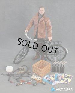 画像1: 1/6  French Resistance Pierre & Bike WWII  ブラッド・ピット似ヘッド イングロリアス・バスターズ *お取り寄せ