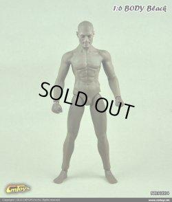 画像1: CMTOYS  シームレス男性素体/黒人 Muscular Body (ヘッド付き) HJ004