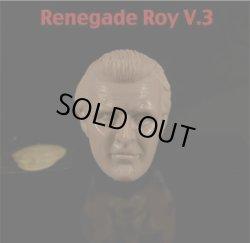 """画像1: 1/6 Nexus-6: """"Renegade Roy"""" カスタムヘッド(無彩色版)  Hair variation #3 (お取り寄せ)"""
