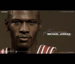 """画像3: NBA マイケル・ジョーダン I'M Legend #23"""" シカゴ・ブルズ ロード・ジャージ版 エンターベイ"""