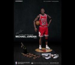 """画像1: NBA マイケル・ジョーダン I'M Legend #23"""" シカゴ・ブルズ ロード・ジャージ版 エンターベイ"""