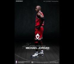 """画像2: NBA マイケル・ジョーダン I'M Legend #23"""" シカゴ・ブルズ ロード・ジャージ版 エンターベイ"""