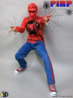 """画像1: PIRP FIGURE  1/6  """"Spider Boy Sport Wear"""" アウトフィットセット  *お取り寄せ"""
