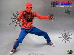 """画像3: PIRP FIGURE  1/6  """"Spider Boy Sport Wear"""" アウトフィットセット  *お取り寄せ"""