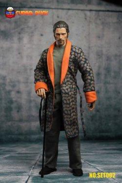 画像1: Super Duck 1/6 ウェイン産業CEO 隠居版 ヘッド+衣装セット * お取り寄せ