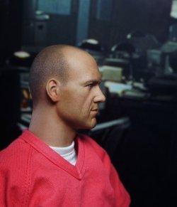 """画像3: """"The Prisoner""""  セブン/ジョン・ドゥ風  ケヴィン・スペイシー似 フィギュア 1/6 Seven John Doe Kevin Spacey figure Se7en"""