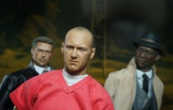 """画像4: """"The Prisoner""""  セブン/ジョン・ドゥ風  ケヴィン・スペイシー似 フィギュア 1/6 Seven John Doe Kevin Spacey figure Se7en"""