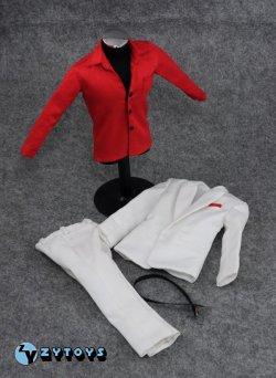 画像1: ZYTOYS  ホワイトシャツ&レッドシャツ スカーフェイス 1/6  *お取り寄せ