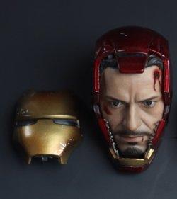 画像1: Tony in helmet MK7 type 1/6 *お取り寄せ