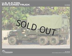 画像3: TAOWAN 1/6 米軍2.5トン6X6カーゴトラック フルメタル *予約
