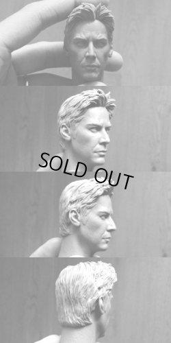 """画像2: カスタム """"Constantine""""- unpainted Head Sculpt  1/6  *お取り寄せ"""