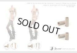 画像2: Dollsfigure  1/6 女性ボディ用 足首延長コネクタセット(2組入り) cc258 *お取り寄せ