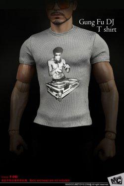 画像2: MCTOYS 1/6 ブルース・リー プリント Tシャツ  *お取り寄せ