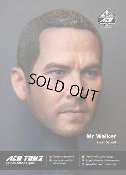 """画像3: ACE Toyz 1/6 """"Mr.Walker"""" ポール・ウォーカー似ヘッド *お取り寄せ"""
