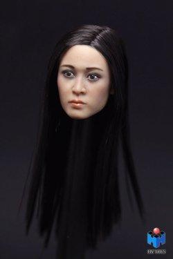 画像2: HY TOYS 1/6 アジアン女性ヘッド *お取り寄せ