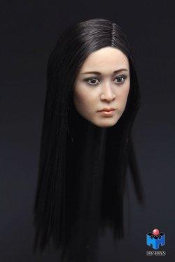画像3: HY TOYS 1/6 アジアン女性ヘッド *お取り寄せ