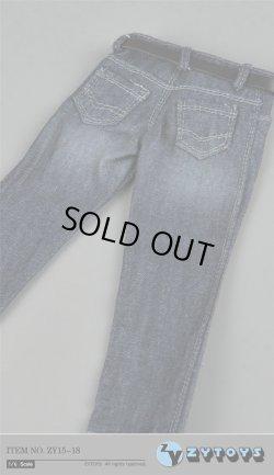 画像3: ZYTOYS 1/6 男性ストライプシャツ&ジーンズ セット *お取り寄せ