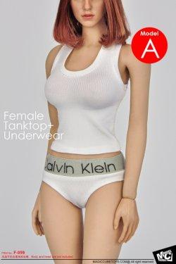 画像2: MCTOYS  1/6 Female Tanktop+Underwear (F-059)  *お取り寄せ