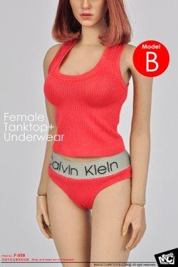 画像4: MCTOYS  1/6 Female Tanktop+Underwear (F-059)  *お取り寄せ