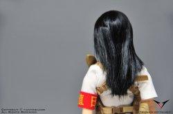 """画像2: ファイティングガール 1/6 """"レッドスカーフ"""" ガール ヘッド [A] *お取り寄せ"""
