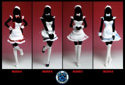 画像1: Super Duck 1/6 Maid A, B, C, D (C015)  *お取り寄せ