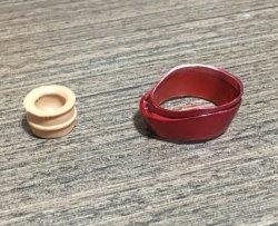 画像1: Iron Neck Collar for  Custom 1/6 トニー ヘッド 5.0 版 *お取り寄せ