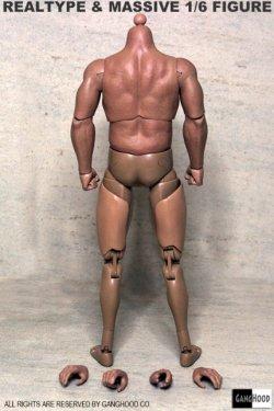 画像2: GangHood 1/6  Muscular Body 1.0 Version  *お取り寄せ