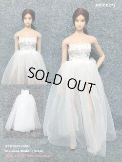 画像1: Dollsfigure 1/6 ワンピース ウェディングドレス cc277 *お取り寄せ