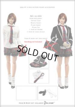 画像1: Dollsfigure  1/6 女子高生制服 冬服&アクセサリーセット cc255 *お取り寄せ