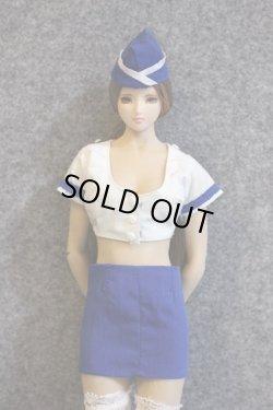 画像2: Dollsfigure  1/6 女性フライトアテンダント ユニフォームセット cc270 *お取り寄せ