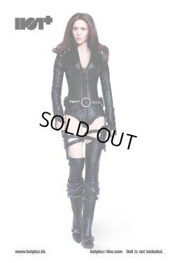 画像1: HotPlus 1/6 女性エージェント ブラックレザースーツセット *お取り寄せ