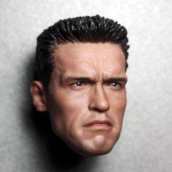 画像3: Arnold T2 コマンドー ヘッド (ノーマル/AS2) 1/6  Custom *お取り寄せ