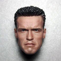 画像2: Arnold T2 コマンドー ヘッド (ノーマル/AS2) 1/6  Custom *お取り寄せ