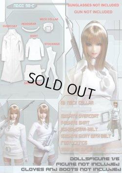 画像1: Dolls Figure ガール スナイパー衣装セット(ホワイト) cc98C *お取り寄せ