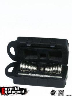 画像2: POPTOYS 1/6 フィットネス用品 合金製ダンベル&ボックス セット EY01 *お取り寄せ