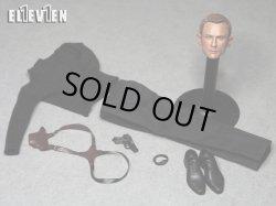 """画像4: ELEVEN 1/6 """"The Agent"""" 007 ヘッド&アウトフィットセット *お取り寄せ"""