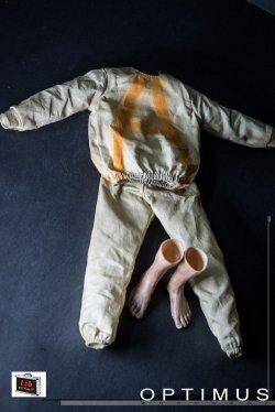 画像1: Custom 1/6 Prisoner ダリル アウトフィット& 裸足パーツ セット  *予約