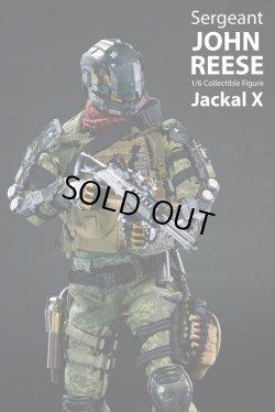 画像1: Jackal X 1/6 サージェント ジョン・リース/Sergent John Reese (JX001) フィギュア *予約