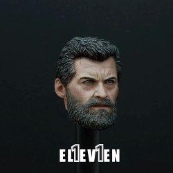 画像3: ELEVEN 1/6 X-Logan Hugh old-male ジャックマン ヘッド