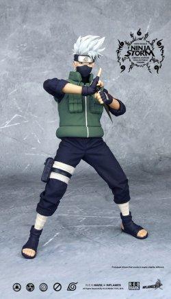 画像1: INFLAMES TOYS 1/6 Ninja Storm vol.02 ヘッド2種付属 フィギュア *お取り寄せ