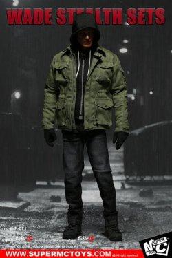 画像1: SUPERMCTOYS 1/6 Wade Stealth sets ウェイド ステルス 衣装セット (F-071) *お取り寄せ