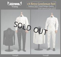 画像1: VORTOYS 1/6 レトロ ジェントルマン スーツ セット V1009-A/B *お取り寄せ