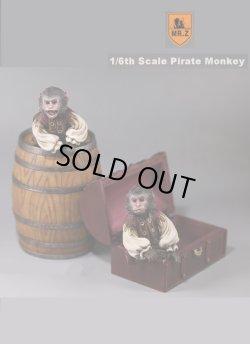 画像1: Mr.Z 1/6 パイレーツ・モンキー/ 海賊猿 スタチュー 2体 with 酒樽 宝箱 セット *お取り寄せ