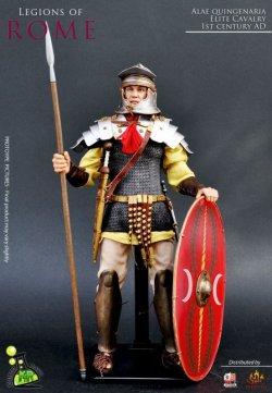 画像1: Kaustic Plastik 1/6 KP016 古代ローマ正規軍 支援部隊アウクシリア 重装騎兵 Legions of ROME Alae Quingenaria Elite Cavalry (1st Century AD) *お取り寄せ