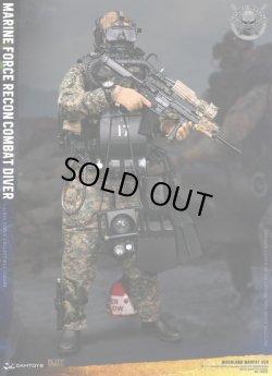 画像1: DAMTOYS 1/6 アメリカ海兵隊武装偵察部隊 マリーン フォース・リーコン コンバット ダイバー ウッドランド マーパット Ver. 78055 *予約